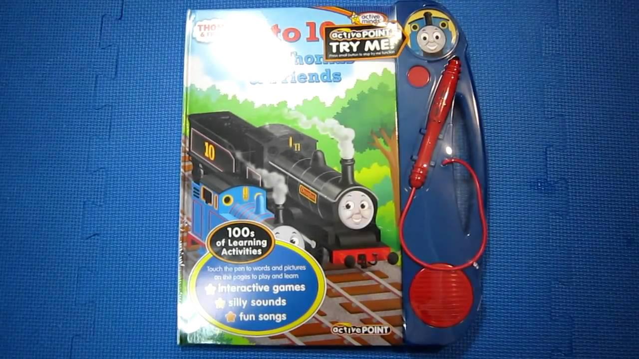 Thomas The Train Books Active Point 1 To 10 With Thomas