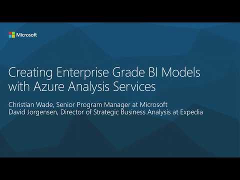 Creating EnterpriseGrade BI Models with Azure Analysis Services