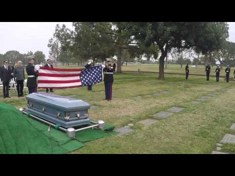 Capt. R.G. Tanguay, Honor Guard Ceremony