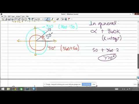 Trig 5.1 Angles and Degree Measure