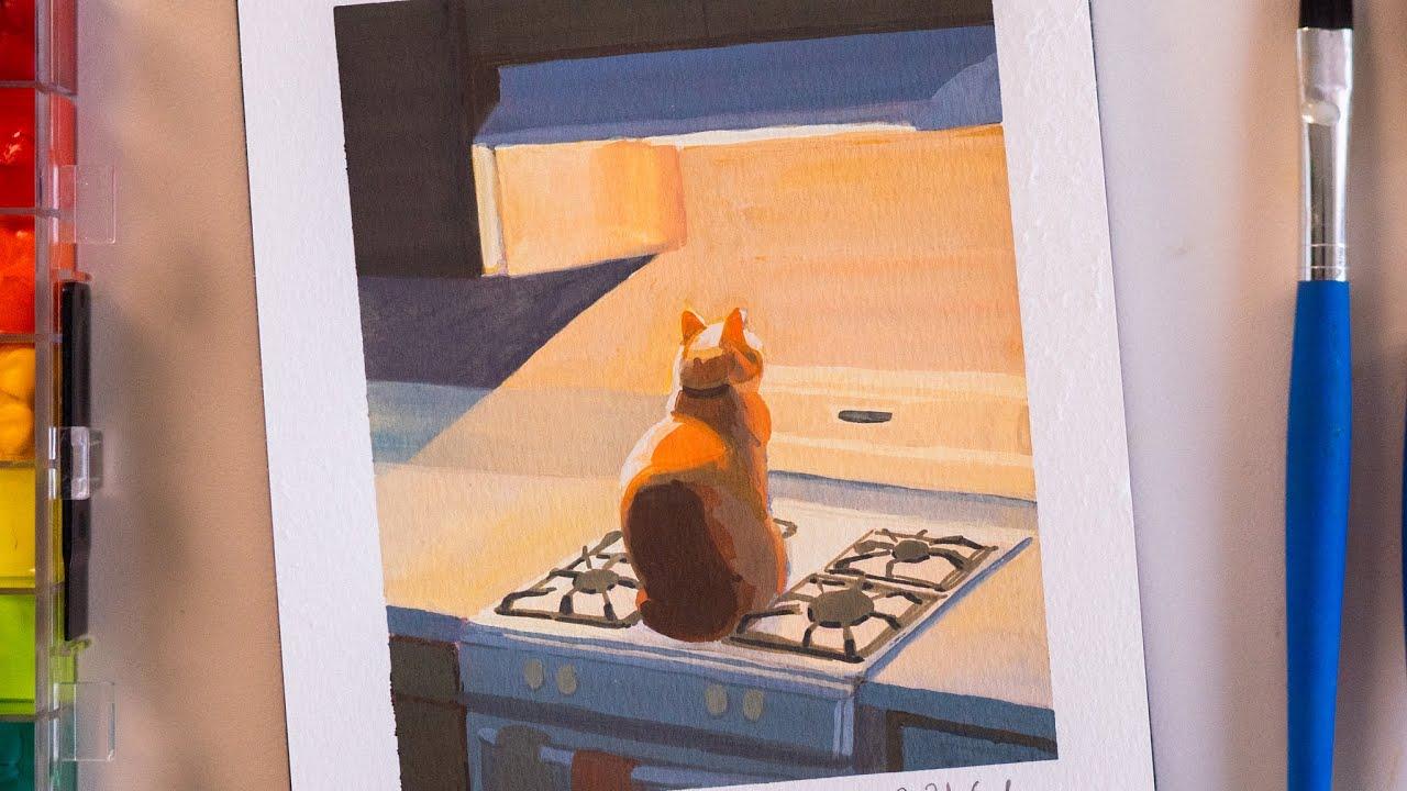고양이 그리기