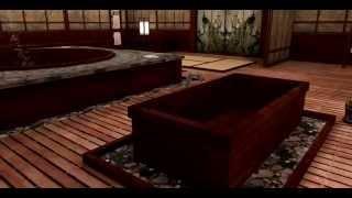 3D Sexvilla 2 -Bathhouse location preview