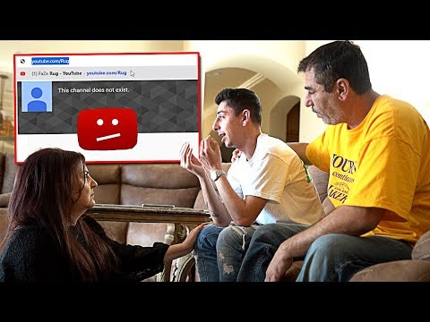 YouTube Deleted My Channel... (My Reaction)