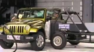 2009-2010 Jeep Wrangler 4-Door IIHS Side Impact