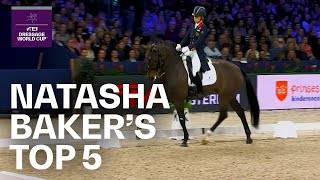 Natasha Baker's Top 5 Dressage Moments | FEI Dress...