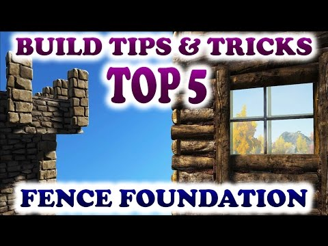 Ark How To Raise Fence Foundations
