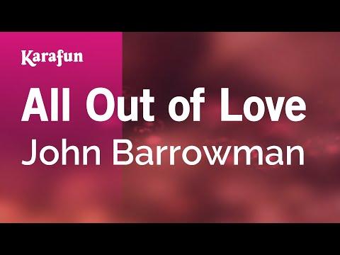 Karaoke All Out Of Love - John Barrowman *