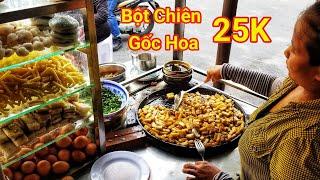 Xe bột Chiên, Há Cảo Chiên trứng Gốc Hoa hơn 30 Năm ở Chợ Nhật Tảo Sài Gòn | Saigon Travel