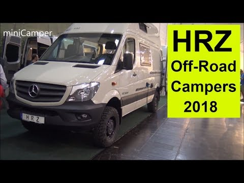 The HRZ off Road camper vans 2018
