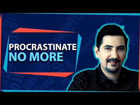 This is The Only Solution to Procrastination. Learn How to Stop Procrastinating ✓