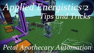 AE2 Tips and Tricks: Petal Apothecary Automation