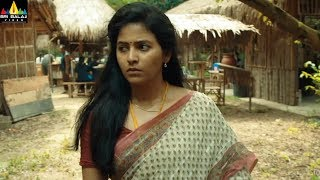 Sindhubaadh Movie Anjali Escaping from Villains | 2019 Latest Movie Scenes | Sri Balaji Video