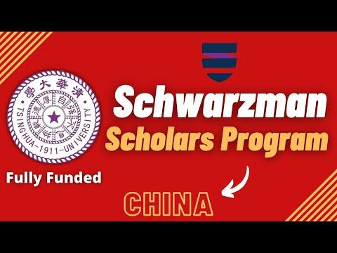 Schwarzman Scholars Program | Step by Step Process | Fully Funded | Tsinghua University Scholarships