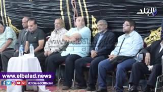 سفير السعودية ومرتجى وجعفر وربيع ياسين يقدمون العزاء فى أحمد ماهر.. فيديو وصور