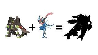 Pokemon Fusion Requests #170 - Ash-Greninja + Zygarde Complete Form.