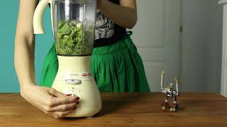 How to make a Green Monster Smoothie with the Optimum 9200A