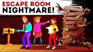 MY ESCAPE ROOM NIGHTMARE! HORROR STORY ANIMATED
