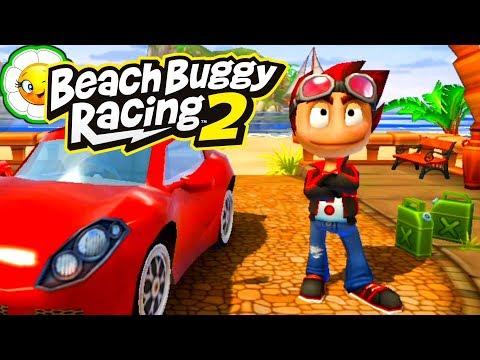 Beach Buggy Racing 2 #1 Продолжение супер гонок в новой игре! Обучение и первые заезды!