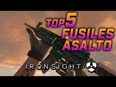 ironsight best assault rifle
