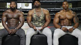Triceps training for big arms | Mike Rashid | Simeon Panda & Big Rob