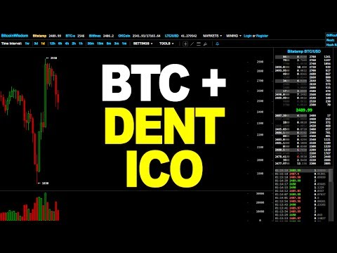 Bitcoin Price Technical Analysis + DENT Coin ICO (July 27th 2017)