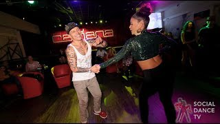 Fernando Sosa & Keila Soto Villanueva - Salsa Social Dancing | Camana Club (Milan, Italy)