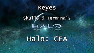 Halo: MCC [Halo: CEA] | Skulls & Terminals - Mission 9 - Keyes | Collectibles