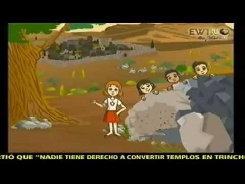 Vía Crucis En Dibujos Animados Portal Educativo