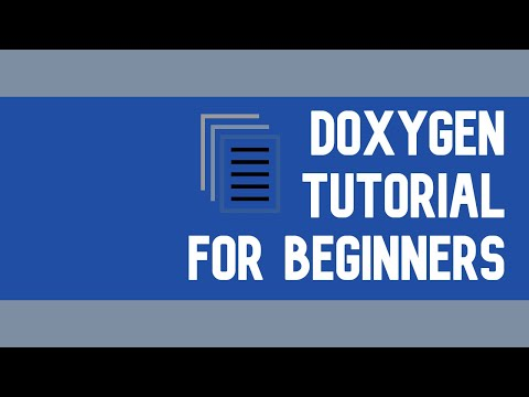 Doxygen - Documentation For Your Programs - Installing, Setting Up, And Running Tutorial
