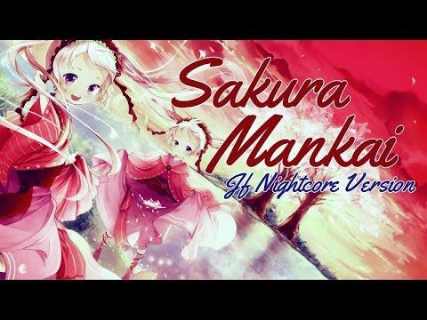 Nightcore - Sakura Mankai (+ Lyrics) [HD]