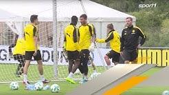Hitzköpfe Dembele und Bürki streiten sich im BVB-Training