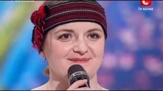 Украина мае талант 2 / Львов / Любовь, Наталья Казмирчук
