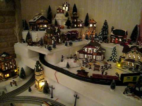 Christmas Village Storage