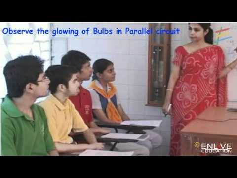 Download Observe the glowing of Bulbs in Parallel circuit