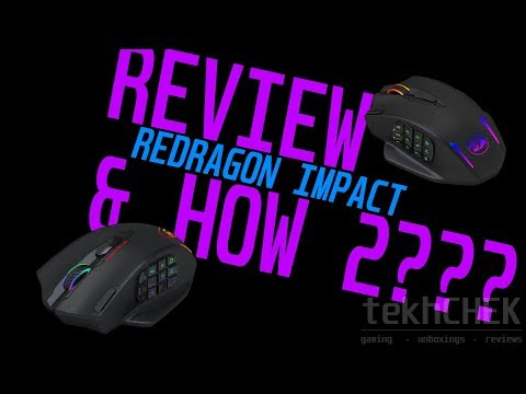 Redragon IMPACT Wired Gaming Mouse - Review & Using Software