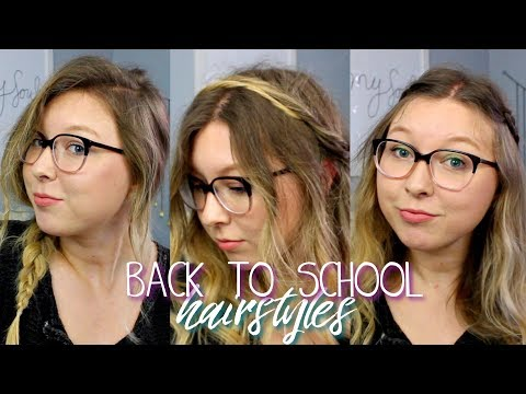 Back to School Hairstyles | 5 Cute & Easy Hairstyles - Duration: 6:47.