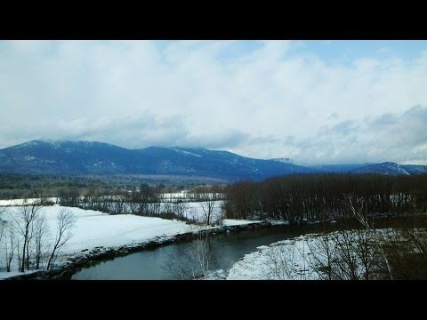 Winter in North Conway, New Hampshire!