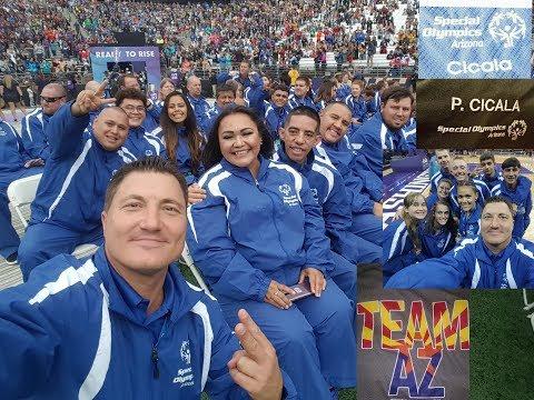 Tucson athletes enjoy Special Olympics USA...
