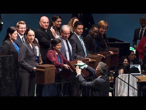UNGA Elects 15 Members of Human Rights Council