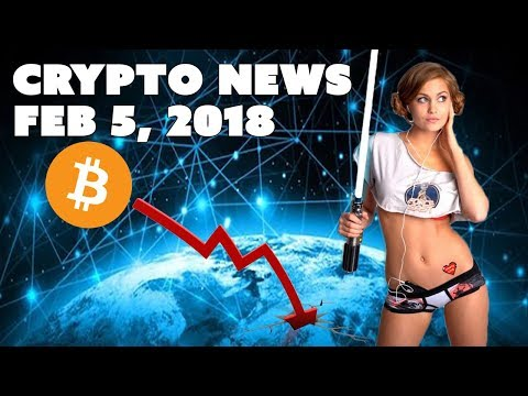 Crypto News - Feb 5 2018 - Bitcoin Crash Today and Price Prediction
