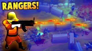 RANGERS Lead The Way!  101st Airborne Rangers! (Guns Up! PC Gameplay)