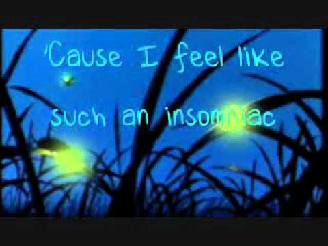 Owl City -fireflies lyrics-