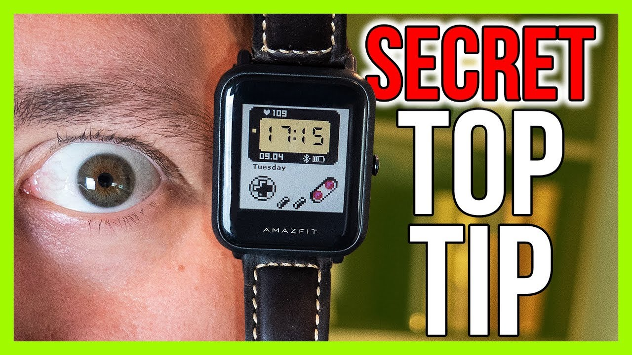 Amazfit Bip Hidden Secret - How To Install Thousands of New Watch Faces! 😱