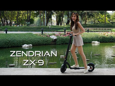 Zendrian ZX-9 Hyper Portable Electric Scooter สกู๊ตเตอร์ไฟฟ้า สกู๊ดเตอร์ไฟฟ้า