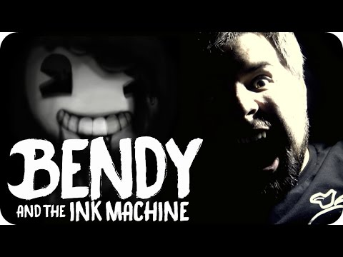 BENDY AND THE INK MACHINE (COVER) Build Our Machine -【Music Video】 - Caleb Hyles