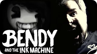 Repeat youtube video BENDY AND THE INK MACHINE (COVER) Build Our Machine -【Music Video】 - Caleb Hyles