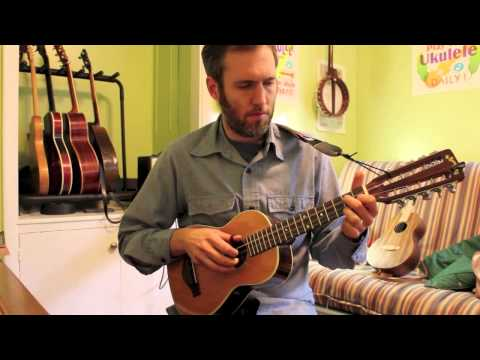 Snowdrop- Played On the Tiple - From our Fingerstyle Ukulele Book