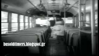 Ο Νίκος Ρίζος σωφέρ σε αθηναϊκό Scania B71 Ταγκαλάκη