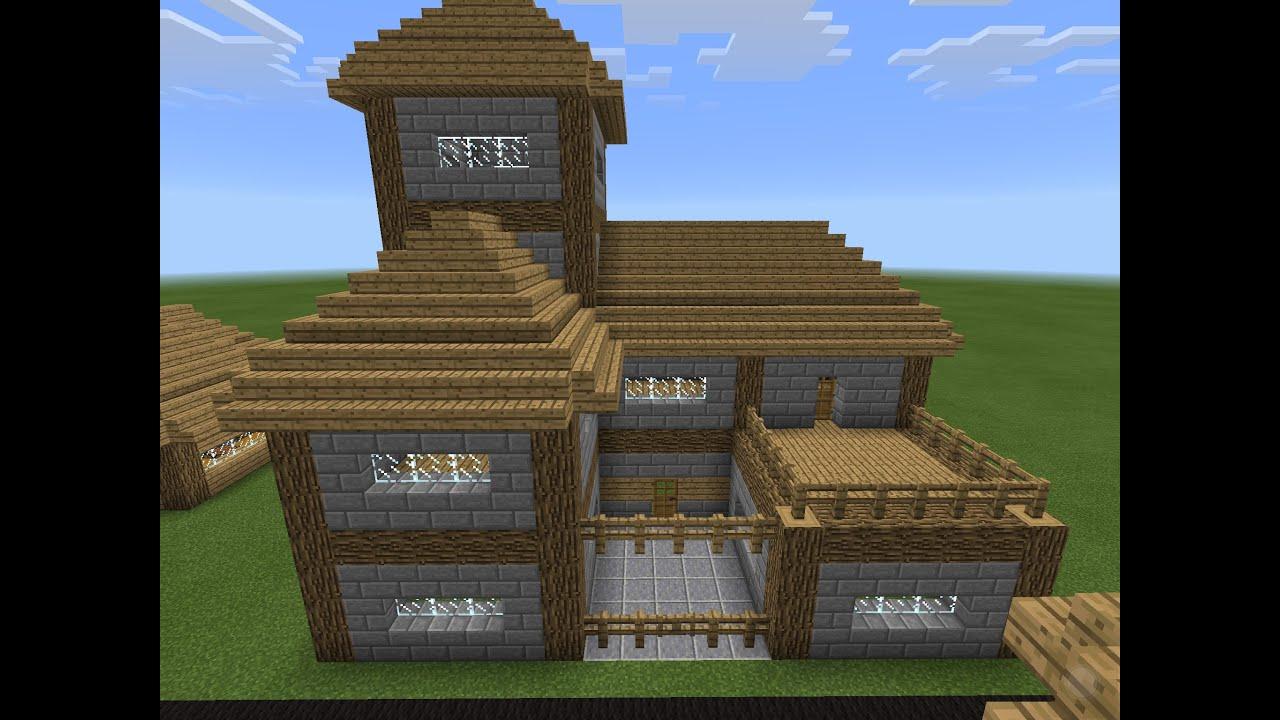 Schön Minecraft Haus Vorlagen Ideen