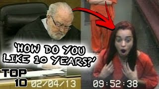 Top 10 Times The Judge Lost Control - Part 2